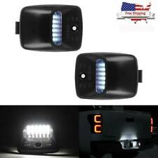 2Pcs Bright SMD LED License Plate Lights Lamp For 2005-2015 Toyota Tacoma Tundra