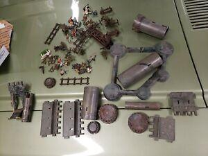 Vintage Marx Knights And Vikings Parts Lot Playset