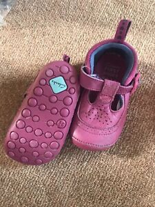 Two Pairs Of Baby Girls Clarks Cruisers Size 3H And 3.5H Pink