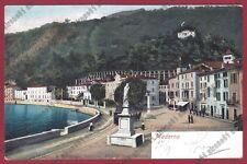 BRESCIA TOSCOLANO MADERNO 14 TRAM Cartolina VIAGGIATA (1904 ?)
