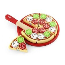 Viga Wooden Take Apart Pizza With Toppings