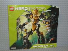 LEGO® Hero Factory Bauanleitung 2282 Rocka XL ungelocht instruction B4491