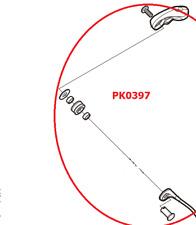 SHIMANO LINE ROLLER SET PER STRADIC FK  ALL SIZE SCORRIFILO RICAMBIO PK0397
