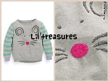 NEXT 100% Cotton Jumpers & Cardigans (2-16 Years) for Girls