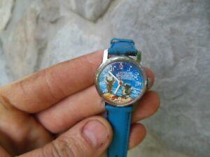 Vintage 70's Swiss Made Bradley Star Wars Mechanical Wrist Watch R2D2 C3PO Works
