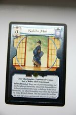 L5R CCG  Diamond Edition  FOIL KAKITA MAI EXP.