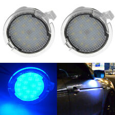 2x LED Side Mirror Puddle Lights for Ford F150 Edge Mondeo Explorer Tanbus Blue