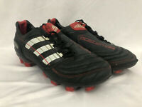 Adidas Predator X Football Boots [2010 Very Rare] FG UK Size 3.5 Black/Red