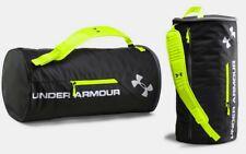 Under Armour UA Isolate Duffle Duffel Bag 1256392-001, Black/High Vis Yellow