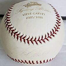 STEVE GARVEY L A Dodgers Autographed 2001 Official MLB Baseball Stamped 485/1000