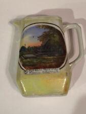 Early 20th Century Gettysburg Ceramic Pitcher Souvenier