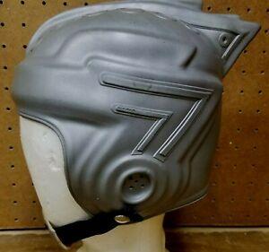 Vintage Original Buck Rogers Soft Rubber Space Helmet - w/Chin Strap - Medium