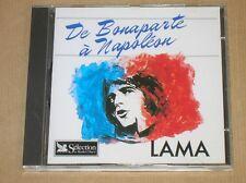 CD / SERGE LAMA / DE BONAPARTE A NAPOLEON / TRES BON ETAT
