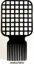 Afro & Twist Comb (Black)-Barber Favored