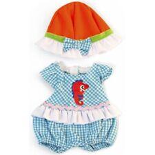 Miniland puppenkleidung Girl junior 32 cm blau 2-teilig