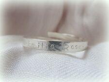 Bracelet Baptême Personnalisé-Argent Sterling Solide Bracelet Bébé Enfant