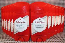 12 Old Spice High Endurance ORIGINAL Long Lasting Stick Deodorant 3.0 oz ea