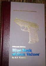 SIGNED LIMITED 96/102 DELUXE HARDBOUND 15th EDITION BLUE BOOK OF GUN VALUES EX