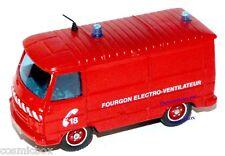SOLIDO camion de pompier PEUGEOT J9 fire truck Lastkraftwagen von Feuerwehrmann