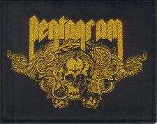 PENTAGRAM-BE FOREWARNED- WOVEN PATCH-super rare