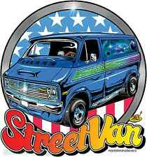 Street Van Sticker Decal Dirty Donny DD52 Roth Like