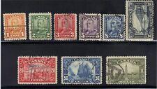 CANADA 1929 S.G. 275//285 LESS 10¢ FINE VERY FINE