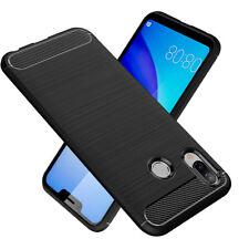 SDTEK Funda para Huawei Honor Play [Fibra de Carbon TPU] Case Cover