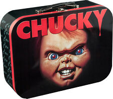 CHILD'S PLAY - Chucky Face Large Metal Lunchbox (Ikon Collectables) #NEW