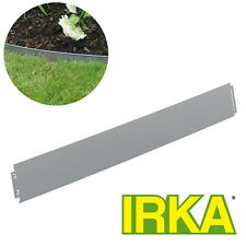 IRKA Rasenkanten Metall 14 cm hoch inkl. Versteifungskante Beeteinfassung