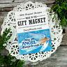 """May an Angel Always be with You * Blessing USA DecoWords Gift Magnet 2""""x3"""""""