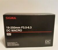 Sigma DC 18-250mm F/3.5-6.3 OS HSM DC Lens for Pentax (K-mount)