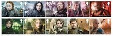 GB 2018 PRE ISSUE GAME OF THRONES FILMS SCI FI SET MNH