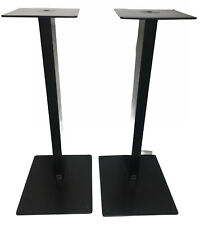 Foundation Speaker Stands, Excellent, Original Spikes, 53cm Height Version