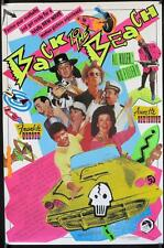 R547 BACK TO THE BEACH 1sh '87 Avalon & Funicello w/Pee-Wee Herman