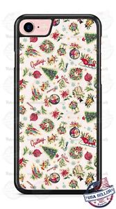 Christmas Decorative Ornaments Phone case Fits iPhone 12 Samsung S20 FE Google 3