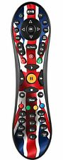 Union Jack Adesivo / pelle Virgin TiVo controller remoto / Controll VR19