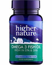 Higher Nature Omega 3 Fish Oils 1000Mg Uk Only 90Caps (6 Pack)
