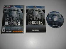 C-130 HERCULES Pc DVD Add-On Microsoft Flight Simulator Sim 2004 FS2004 FS MSFS