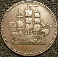 "Canada Prince Edward Island ""SHIPS COLONIES & COMMERCE"" Token"