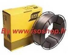 ESAB Fil de soudage AUTROD 12.51 Diamètre 0.8 mm en Bobine de 5 KG