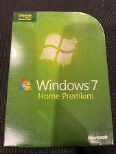 NEW-Microsoft Windows 7 Home Premium Upgrade 32 & 64 Bit DVDs MS WIN /RETAIL BOX