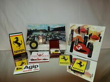 VINTAGE F1 MERCHANDISE FERRARI BERGER - MICHELIN - RARE - GOOD CONDITION
