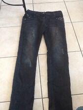jeans noir slim 14 ans