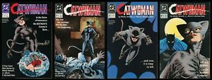Catwoman Comic Set 1-2-3-4 Lot 1989 1st Selina Kyle Batman Dark Knight JJ Birch