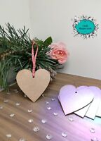 Wooden, Christmas Hearts, Christmas Decorations, Embellishments, Weddings