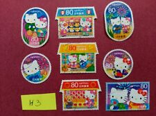 HELLO KITTY SANRIO LITTLE TWIN STARS MY MELODY   USED JAPAN STAMPS