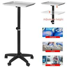 Mobile Rolling Mayo Stand Trolley Medical Instrument With Removable Tray Amp Base