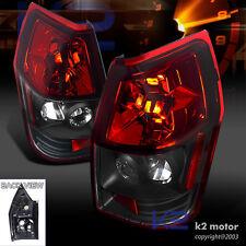2005-2008 Dodge Magnum Rear Brake Tail Lights Lamps Red/Black Left+Right