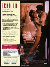 DEAD ON__Original 1994 Trade print AD_movie promo__SHARI SHATTUCK_TRACY SCOGGINS