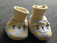 Baby Girls Lemon Mothercare Soft Socktop Novelty Booties